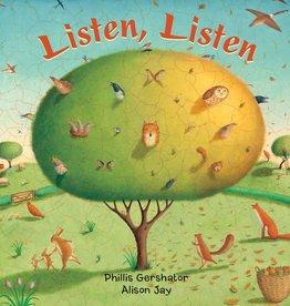 Barefoot Books Listen, Listen board book