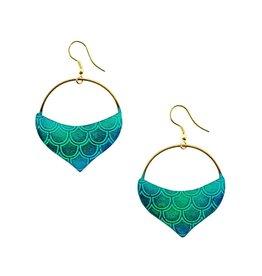 Matr Boomie Jaladhi Earrings - Mermaid