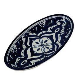 Sobremesa Small Nigella Black Oval Platter