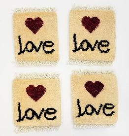 Bunyaad Pakistan Love Above Love Mug Rug