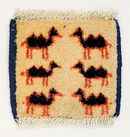 Bunyaad Pakistan Tribal Camel Mug Rugs