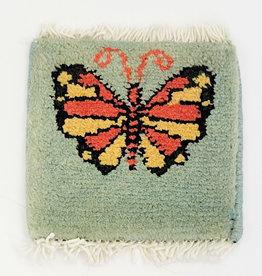 Bunyaad Pakistan Butterfly Flutter Mug Rug Assorted