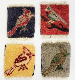 Bunyaad Pakistan Crazy Colored Cardinals Mug Rug
