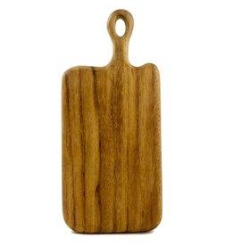 "Sobremesa Small Loop Handle Caro Caro Bar Board, ( 10""L x 6""W)"