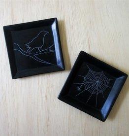 Venture Imports Spider Web Dish