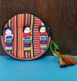 Lucia's Imports Worry Doll Coin Bag