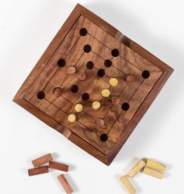 Ten Thousand Villages Nine Men's Morris Game