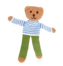 Pebble Crochet Flipps Bear - Deep Green Trouser