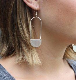 WorldFinds Aliya Earrings - Silver