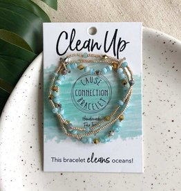 WorldFinds Clean - Cause Bracelet to clean up