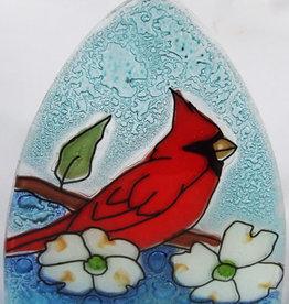 Pampeana Cardinal on Dogwood Nightlight