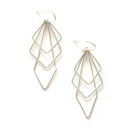 Fair Anita Prominent Paragon Earrings - Silver