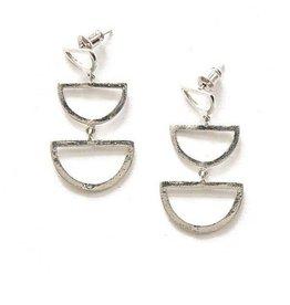 Fair Anita Reverberation Stud Earrings - Silver