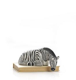Serrv Zebra Shelf Sitter