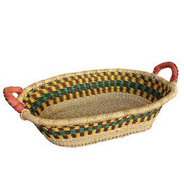 African Market Baskets Bread Basket