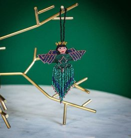 Lucia's Imports Angel Multi Large Beaded Ornament