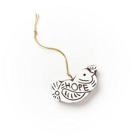 Matr Boomie Hima Bindu Ornament - Hope Dove