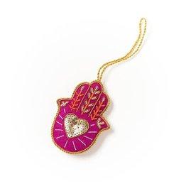 Matr Boomie Larissa Plush Ornament - Hamsa