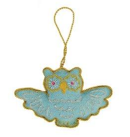 Matr Boomie Larissa Plush Ornament - Owl