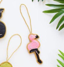 Matr Boomie Larissa Plush Ornament - Flamingo