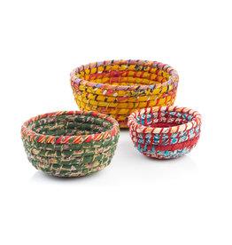 Serrv Chindi Round Nesting Basket - Large