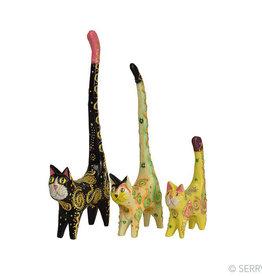 Serrv Party Cats (Set of 3)