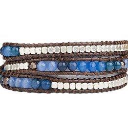 Marquet Minna Triple Wrap Bracelet