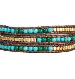 Marquet Casey Triple Wrap Bracelet