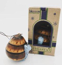 Blossom Inspirations Funny Snail Gourd Ornament