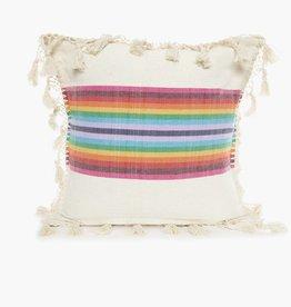 Nativa Rainbow Woven Pillowcase