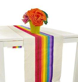 Nativa Striped Table Runner - Multicolor
