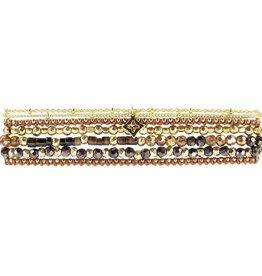 Marquet Ellen Triple Wrap Bracelet