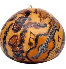 Lucuma Designs Musical Instruments - Gourd Ornament