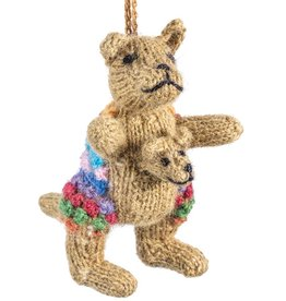 Lucuma Designs Kangaroo - Alpaca Knitted Ornament