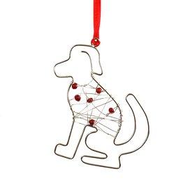 Mira Fair Trade Beaded Dog Ornament