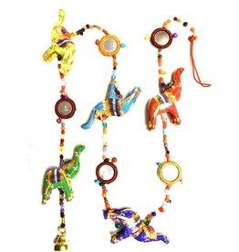 Mira Fair Trade Prosperity Tota Mirror Elephants