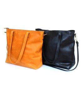 Fair Anita Venture Leather Tote - Cognac