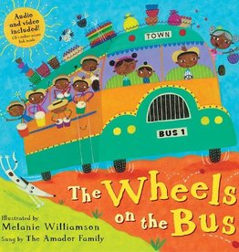 Barefoot Books The Wheels on the Bus paperback book w/ CD