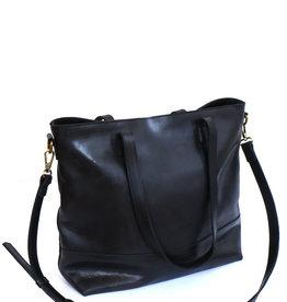 Fair Anita Venture Leather Tote - Black
