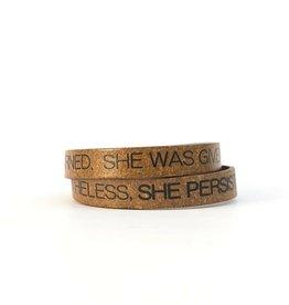 Fair Anita She Persisted Bracelet