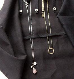 Fair Anita Wayfarer Jewelry Roll Travel Case - Chevron