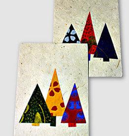 Ganesh Himal Three applique Christmas Trees