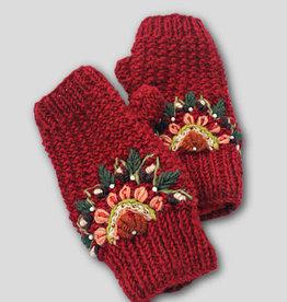 Ganesh Himal Knit Fingerless Mittens