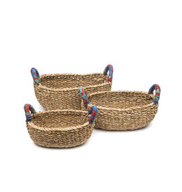 Matr Boomie Sari Handle Table Basket - Small