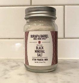 Burlap & Barrel Black Mineral Salt