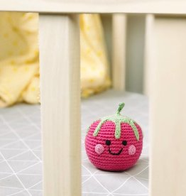 Pebble Friendly Raspberry Rattle