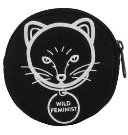 Malia Designs Cat Feminist Coin Purse