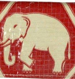 Malia Designs Diamond Elephant Cement Card Holder