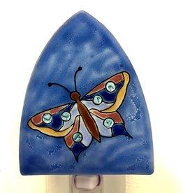 Pampeana Blue Butterfly Nightlight