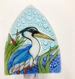 Pampeana Blue Heron Nightlight